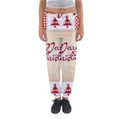 Christmas xmas Patterns Pattern Women s Jogger Sweatpants