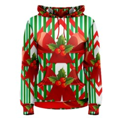 Christmas Gift Wrap Decoration Red Women s Pullover Hoodie