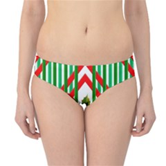 Christmas Gift Wrap Decoration Red Hipster Bikini Bottoms