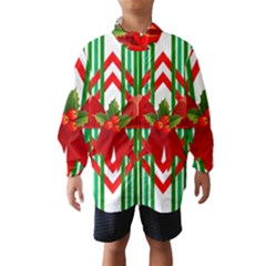 Christmas Gift Wrap Decoration Red Wind Breaker (Kids)