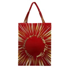 Christmas Greeting Card Star Classic Tote Bag