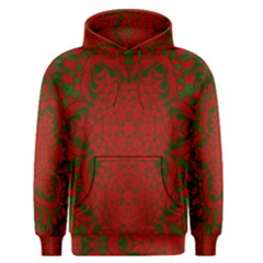 Christmas Kaleidoscope Art Pattern Men s Pullover Hoodie