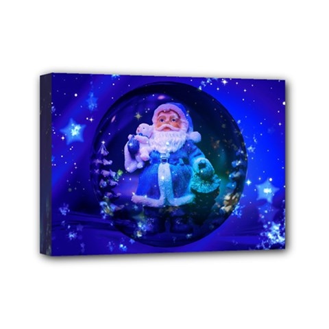 Christmas Nicholas Ball Mini Canvas 7  x 5