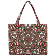 Christmas Kaleidoscope Mini Tote Bag