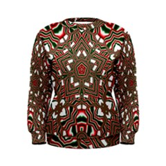 Christmas Kaleidoscope Women s Sweatshirt