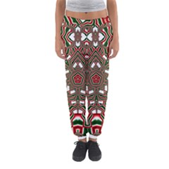 Christmas Kaleidoscope Women s Jogger Sweatpants