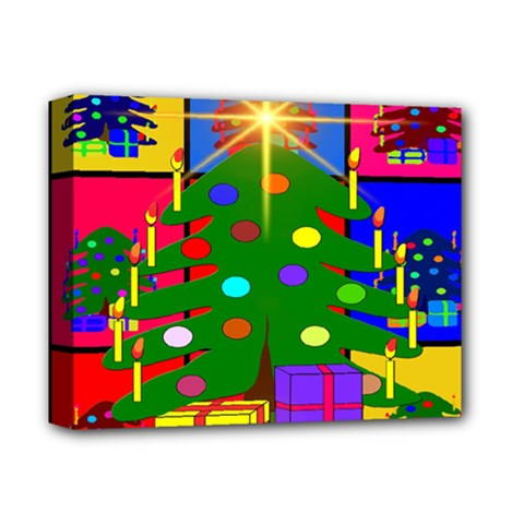 Christmas Ornaments Advent Ball Deluxe Canvas 14  x 11