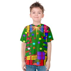 Christmas Ornaments Advent Ball Kids  Cotton Tee