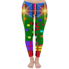 Christmas Ornaments Advent Ball Classic Winter Leggings
