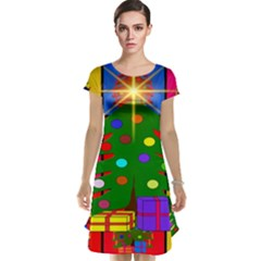 Christmas Ornaments Advent Ball Cap Sleeve Nightdress