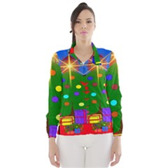 Christmas Ornaments Advent Ball Wind Breaker (women)