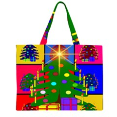 Christmas Ornaments Advent Ball Large Tote Bag