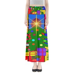 Christmas Ornaments Advent Ball Maxi Skirts