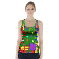 Christmas Ornaments Advent Ball Racer Back Sports Top