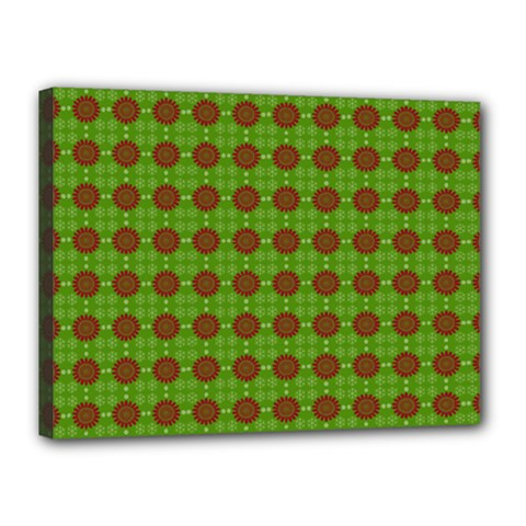 Christmas Paper Wrapping Patterns Canvas 16  x 12