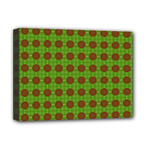 Christmas Paper Wrapping Patterns Deluxe Canvas 16  x 12