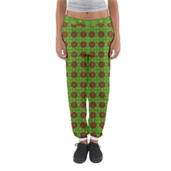 Christmas Paper Wrapping Patterns Women s Jogger Sweatpants