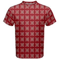 Christmas Paper Pattern Men s Cotton Tee
