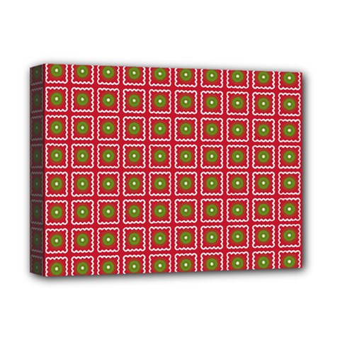 Christmas Paper Wrapping Deluxe Canvas 16  x 12
