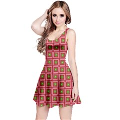 Christmas Paper Wrapping Reversible Sleeveless Dress