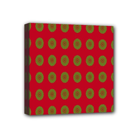 Christmas Paper Wrapping Paper Mini Canvas 4  x 4