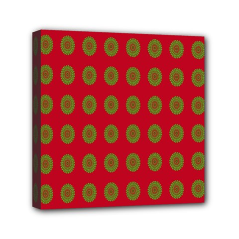 Christmas Paper Wrapping Paper Mini Canvas 6  x 6