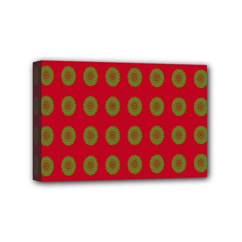 Christmas Paper Wrapping Paper Mini Canvas 6  x 4