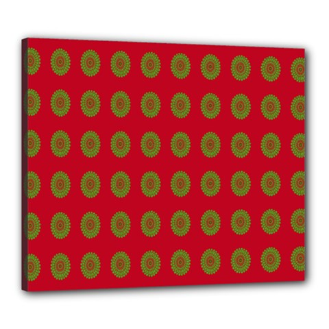 Christmas Paper Wrapping Paper Canvas 24  X 20