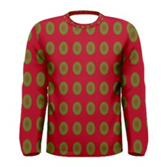 Christmas Paper Wrapping Paper Men s Long Sleeve Tee
