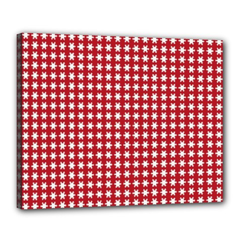 Christmas Paper Wrapping Paper Canvas 20  x 16