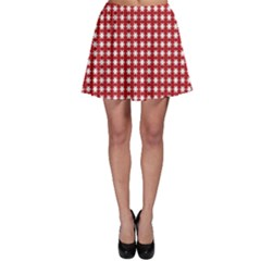 Christmas Paper Wrapping Paper Skater Skirt