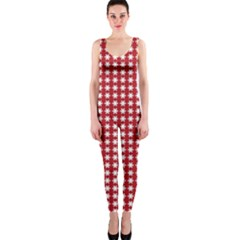 Christmas Paper Wrapping Paper OnePiece Catsuit