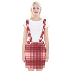 Christmas Paper Wrapping Paper Suspender Skirt