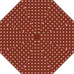 Christmas Paper Wrapping Pattern Hook Handle Umbrellas (Large)