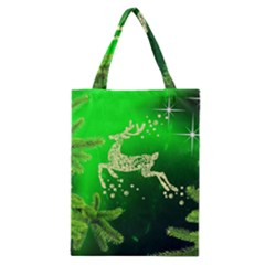 Christmas Reindeer Happy Decoration Classic Tote Bag