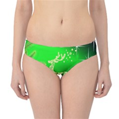 Christmas Reindeer Happy Decoration Hipster Bikini Bottoms