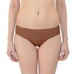 Christmas Paper Wrapping Paper Hipster Bikini Bottoms