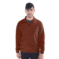 Christmas Paper Wrapping Paper Wind Breaker (Men)