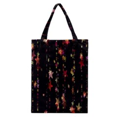 Christmas Star Advent Golden Classic Tote Bag