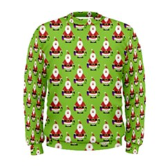 Christmas Santa Santa Claus Men s Sweatshirt