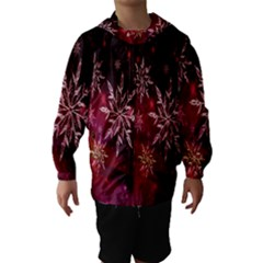 Christmas Snowflake Ice Crystal Hooded Wind Breaker (kids)