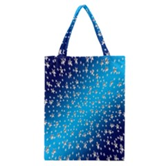 Christmas Star Light Advent Classic Tote Bag
