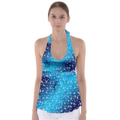 Christmas Star Light Advent Babydoll Tankini Top