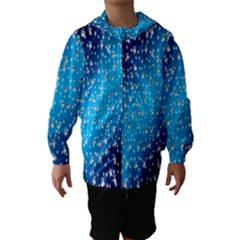 Christmas Star Light Advent Hooded Wind Breaker (kids)