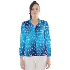 Christmas Star Light Advent Wind Breaker (Women)