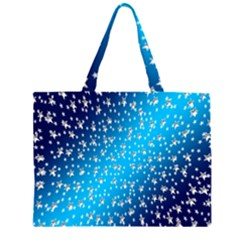 Christmas Star Light Advent Large Tote Bag