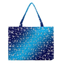Christmas Star Light Advent Medium Tote Bag