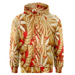 Christmas Straw Xmas Gold Men s Pullover Hoodie