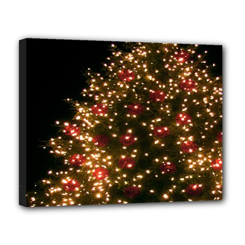 Christmas Tree Canvas 14  x 11
