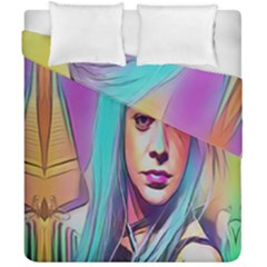 DRAG ON GO Duvet Cover Double Side (California King Size)